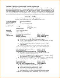 Resume Builder Usa Jobs Magnificent Category Resume 44 Swarnimabharathorg