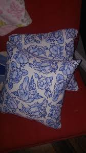 My mother bought these throw pillows. funny