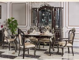 dining room furniture styles. New Classical European Style Dining Table And Chair With Wine Cabinet 8011-in Room Sets From Furniture On Aliexpress.com | Alibaba Group Styles