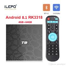 4GB 64GB Android Tv Box Rockchip RK3318 T9 Android Tv Box Support Dual Band  2.4G/5.8G WiFi Bluetooth 4.1 4K Ultra Smart Tv Online Tv Box Quad Core Tv  Box From Gaoxindigital, $46.51