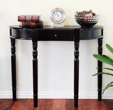 black hall tables narrow. Large Size Of Innenarchitektur:half Moon Entry Hall Console Table Decorative Decoration Furniture And Black Tables Narrow B