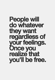 set free the feelings quote with photo