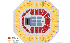 Lca Seating Chart Wwe Seating Charts Colonial Life Arena