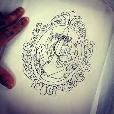 oval frame tattoo design. Vanity Mirror Tattoos Oval Frame Tattoo Design Anchor In A  E .