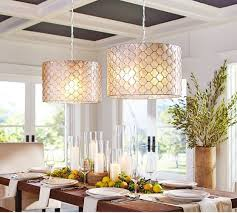dining room pendant lighting fixtures. capiz drum pendant pottery barn this is super cool 2 pendantsbut i think dining room lighting fixtures