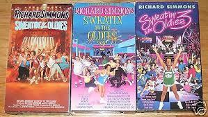 richard simmons sweatin to the oldies 2. sweatin\u0027 to the oldies 1 2 3 (vhs) richard simmons an aerobic concert sweatin e