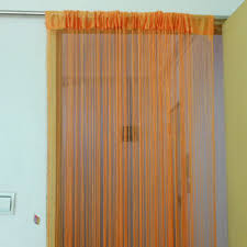 tangpan 100cmx200cm fringe door curtain window panel room divider hanging string curtain strip tassel 2x1m white in curtains from home garden on