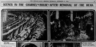 Image result for 1903 the iroquois theater fire in chicago newspapers