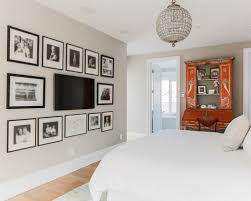 bedroom with tv. Country Style Wall Mount For Bedroom Tv With