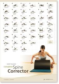 Stott Pilates Wall Chart Complete Spine Corrector