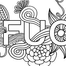 Free printable elephant coloring pages for. Free Printable Coloring Pages For Adults With Swear Words