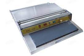 Polyethylene Mild Steel Plastic Hand Wrapping Machine, | ID: 21152080212