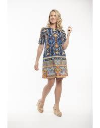 Orientique Orientique Halki Dress Print