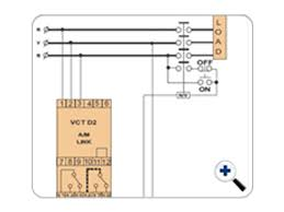 d2 vct1 minilec group electrical connection diagram