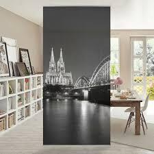 Raumteiler Köln Köln Köln Bei Nacht Ii 250x120cm Vorhang