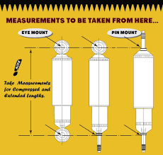 Shock Measurement Chart How To Measure A Shock Absorber Superior Engineering