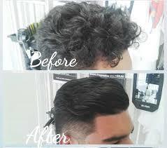 how to straighten men s wavy hair in 6