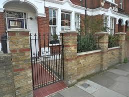 cecillia front garden brick wall ideas