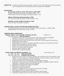 Staff Accountant Resume Samples 30 Most Effective Staff Accountant Resume Samples Free