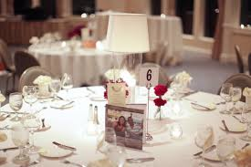 decoration: Marvelous Round Shaped Wedding Dining Table Enhanced With  Glorious Diy Table Decorations SHowing Neat