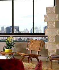 akari furniture. the towering model uf4l10 noguchi lamp in living room akari furniture u