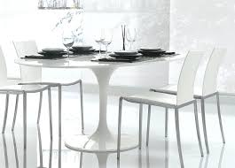 white round dining table tulip round dining table white dining table and chairs modern