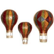Hot Air Balloon Vintage Decor