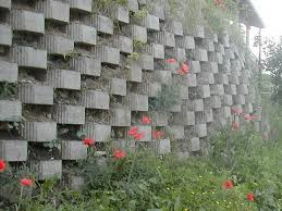 Small Picture Italian Garden Concrete Block Retaining Wall Shaping Earth