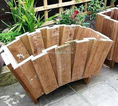 large wooden planters presenting the natural point with wooden planter  boxes inspiration home magazine tall wooden . large wooden planters ...