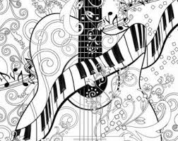 Small Picture 36 best Adult Coloring Music images on Pinterest Coloring