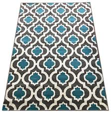 kashan king collection 505 trellis area rug 505 blue and cream