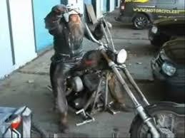 rat bike harley vs fireblade youtube
