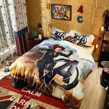 delightful marvel queen bedding avengers black widow bedding set 5 marvel avengers black widow bedding set