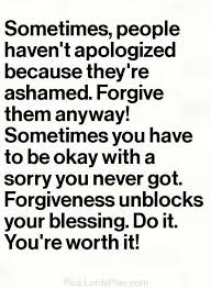 Forgiveness Bible Quotes Extraordinary Forgiveness Unblocks Your Blessings Uplifting Quote On Forgiveness