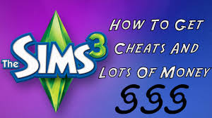 sims 3 how to get cheats and lots of money xbox 360 youtube