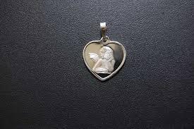 sterling silver guardian angel heart larger image