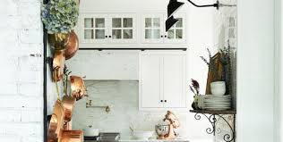 Image Cream French Country Kitchen Inspiration House Beautiful 13 Chic Frenchcountry Kitchens Farmhouse Kitchen Style Inspiration