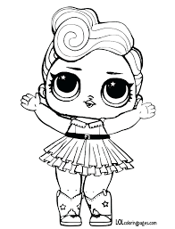 Lol Coloring Pages Doll Coloring Pages Dawn Dolls Coloring Pages
