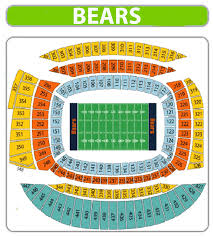 chicago bears seating chart solr field