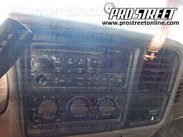 how to chevy silverado stereo wiring diagram 1999 chevy silverado stereo wiring diagram