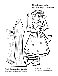 First Communion Boy Girl At First Communion Coloring Pages Best