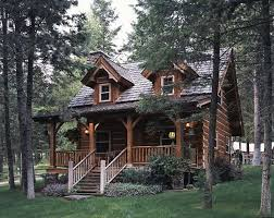 Small Picture Jack Hannas Cozy Log Cabin in Montana Hooked on Houses