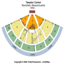 Great Woods Seating Chart 64 Particular Xfinity Center Seat Map