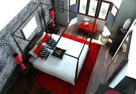 20 Fantastic Bedroom Color Schemes : Red White Bedroom