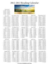Calendar 2013 Through 2015 Revived By His Word Calendar 2012 2015