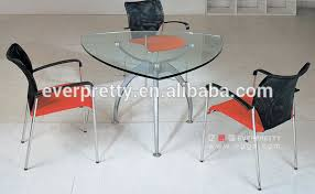 small office conference table. Fantastic Triangle Conference Table Modern Glass Top Small Office Discussion