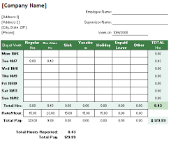 employee sheet template 6 free timesheet templates for tracking employee hours