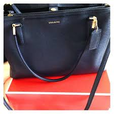 Coach Christie handbag in Navy