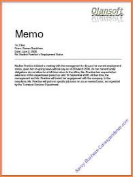 what is a business memo 4 sample business memo bank statement