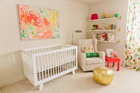 Rosie\u0027s Feminine and Fresh Pink, Green and Gold Nursery - Project ...